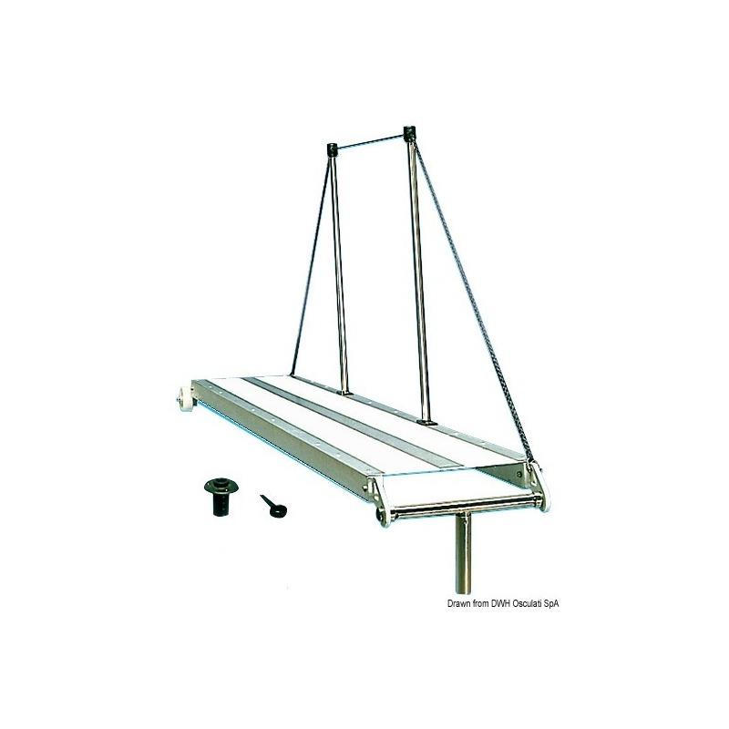 Passerella lega leggera fissa 200 cm