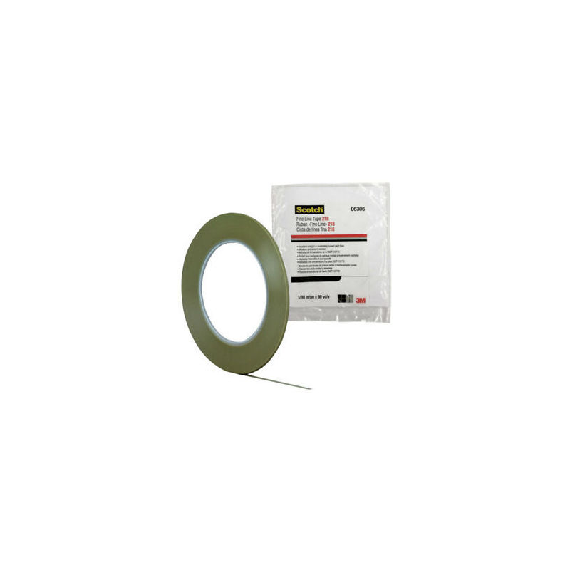 3M Tape 218 Fine Line 19 mm - 54.8 mt