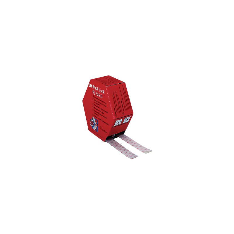Dual-Lock Reclosable Fastener - Twin Pack SJ-356D
