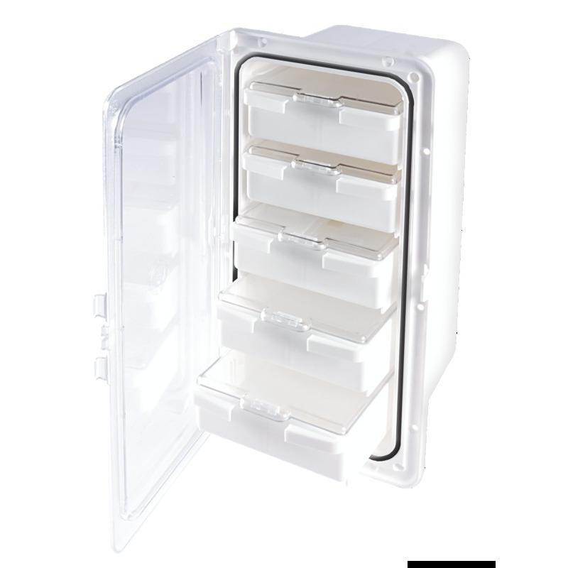 Cassonetto portaoggetti a 5 cassetti