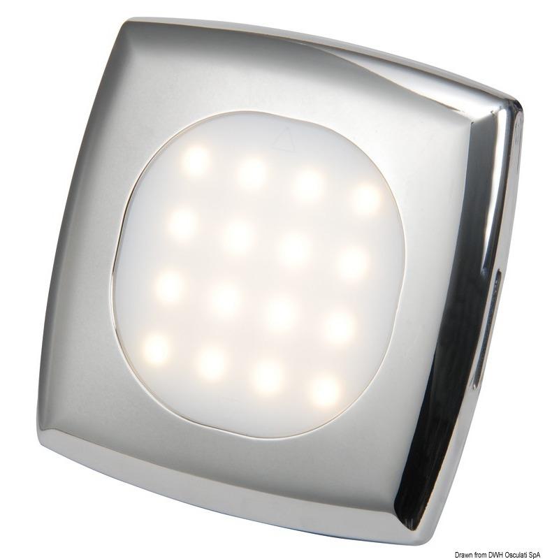 Plafoniera LED da incasso Square