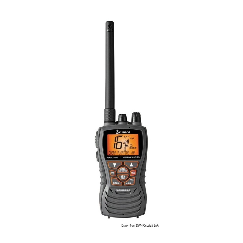 VHF COBRA MARINE MR HH350