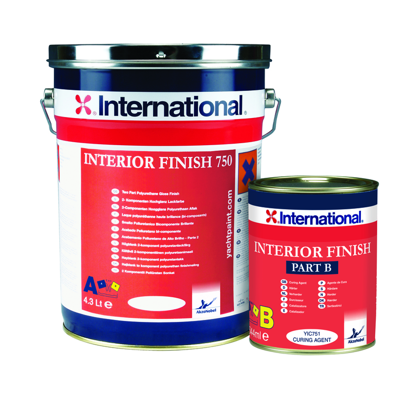 International Interior Finish 750 White Ral 9010 5 lt