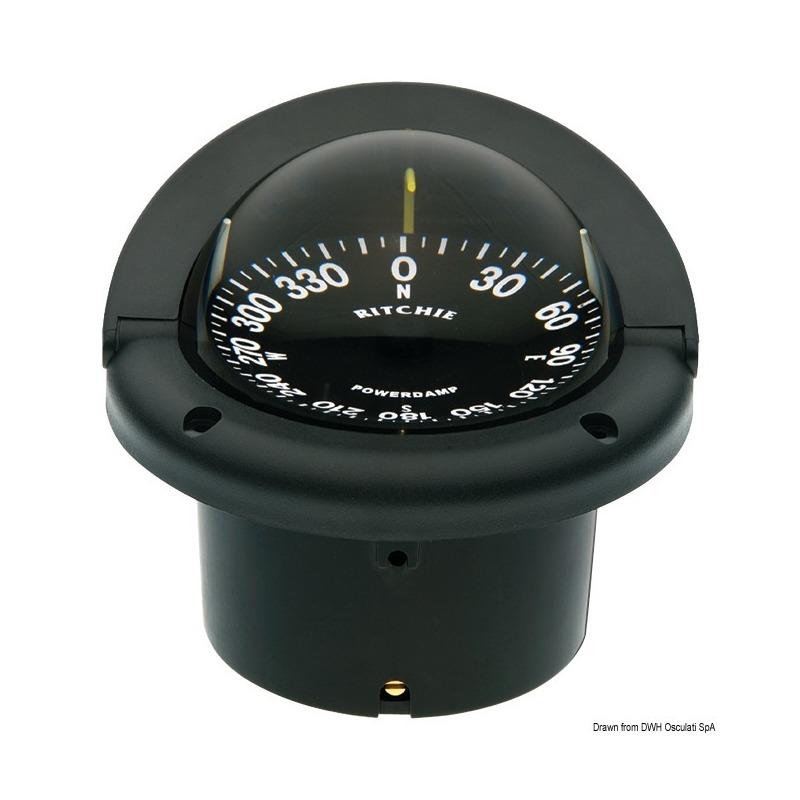 Bussole RITCHIE Helmsman 3'' 3/4 (94 mm) con compensatori e luce