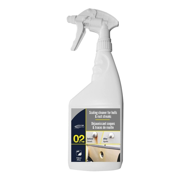 Nautic Clean 02 Scaling Cleaner for Hulls 0.75lt