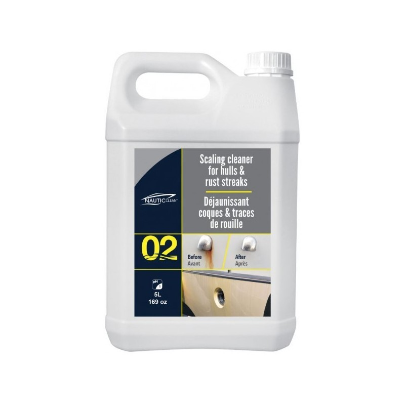 Nautic Clean 02 Scaling Cleaner for Hulls 5lt