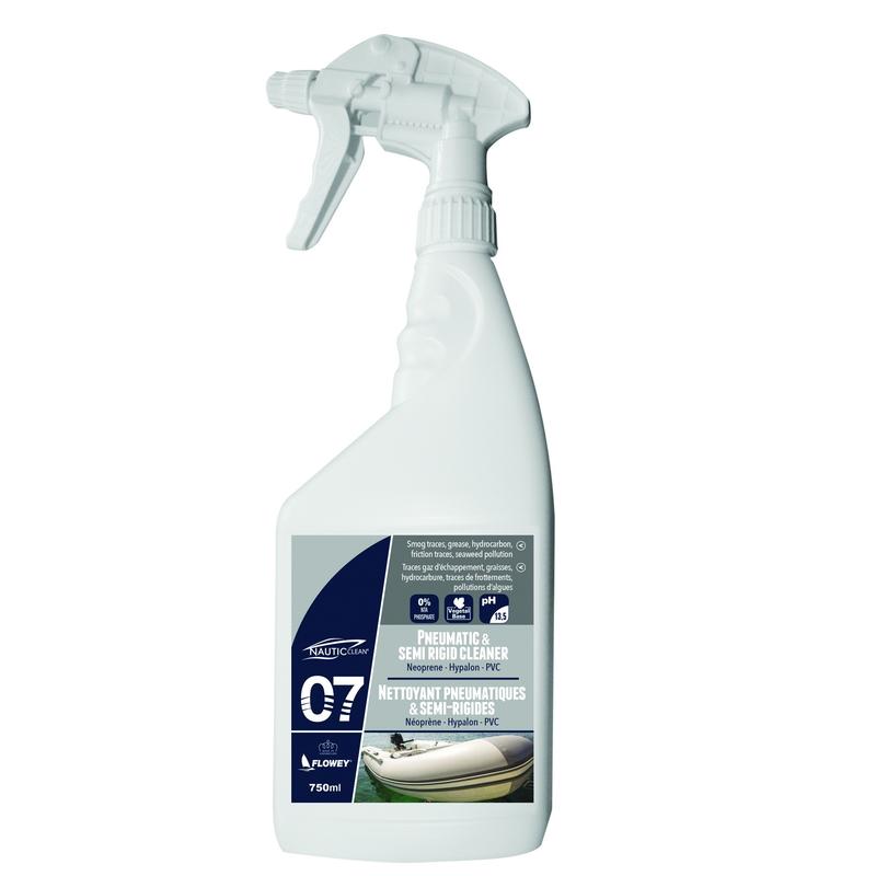 Nautic Clean 07 Pneumatic & Semi Rigid Cleaner 0.75lt