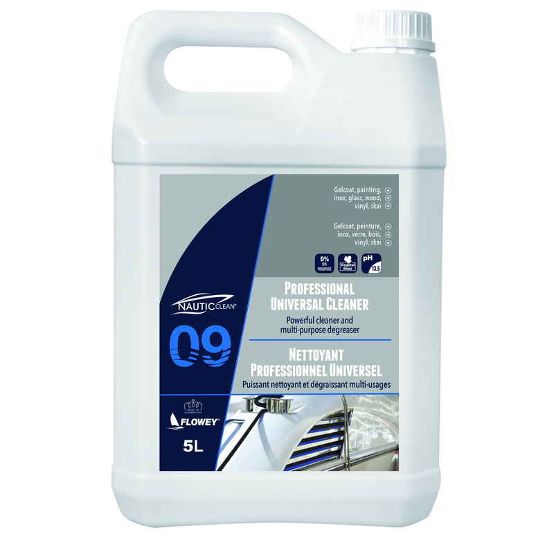 Nautic Clean 09 Professional Universal Cleaner 5lt